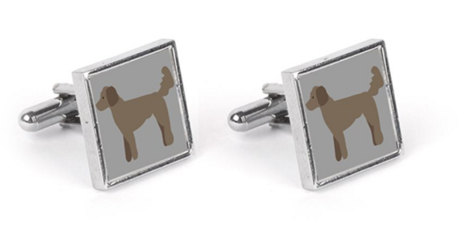 Grey Cufflinks - Dandy Doodles