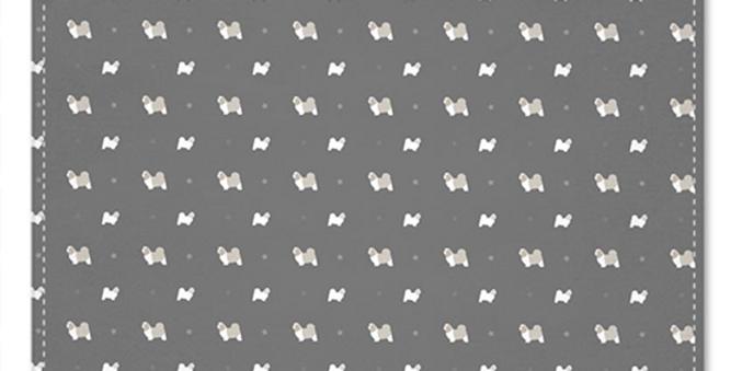 Grey Multi Pocket Squares (2) - Super Tzus
