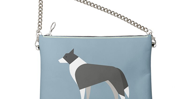 Colour Pop Leather Bag - Cool Collies