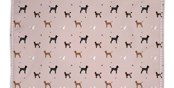 Napkin Set (4) - Poodles