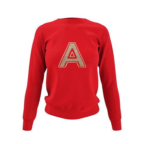 Poppy Red Sweatshirt - Customise Me!