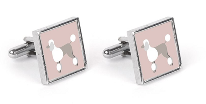 Colour Pop Cufflinks - Pom Pom Poodles