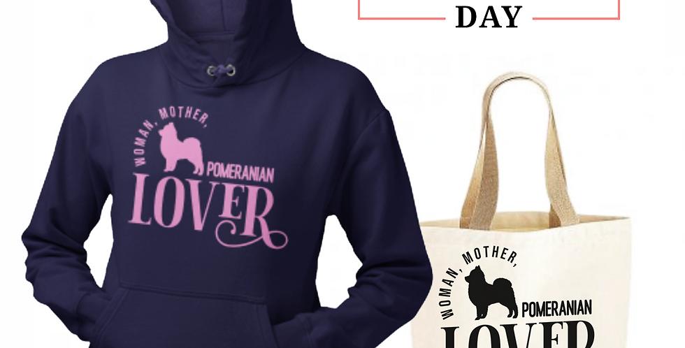 Pomeranian Lover - Shopper & Hoodie Bundle