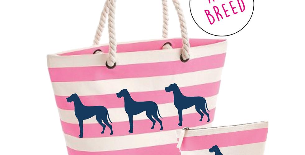 Pink Boardwalk: Wide Set - Any Breed