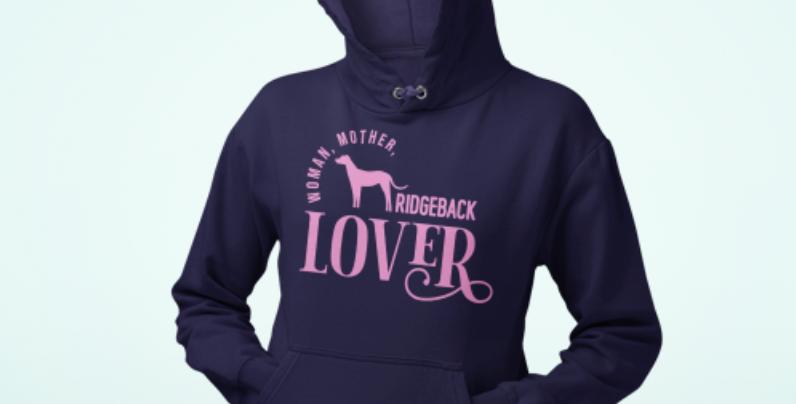 Woman, Mother Ridgeback Lover - Hoodie