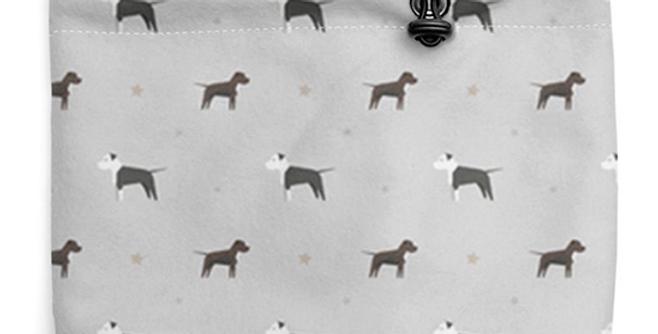 Grey Fleece Sherpa Snood - Sassy Staffies