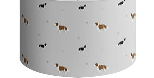 Large Round Ceiling Shade - Scrumptious Springers