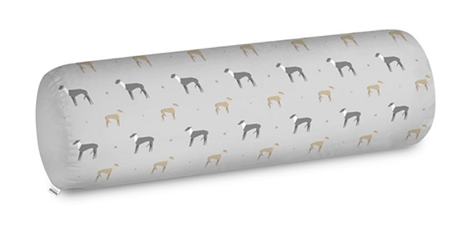 Big Bolster Cushion - Graceful Greyhounds