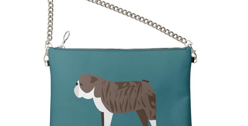 Colour Pop Leather Bag - British Bulldogs