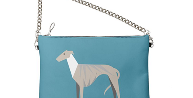 Colour Pop Leather Bag - Whimsical Whippets
