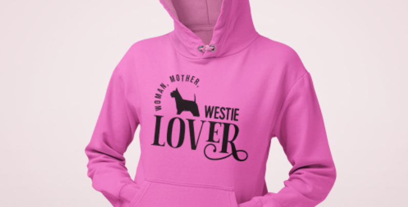 Woman, Mother Westie Lover - Hoodie