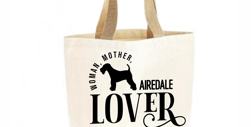 Classic Jute & Canvas Airedale Shopper