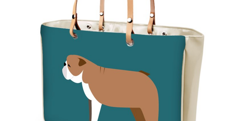 Large Tote Bag - British Bulldogs