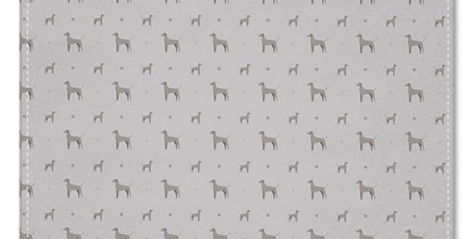 Grey Multi Pocket Squares (2) - Valiant Weimaraners