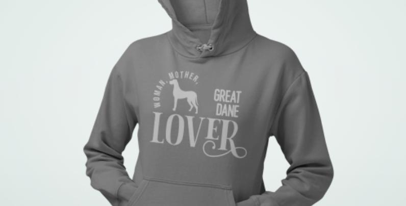 Woman, Mother Great Dane Lover - Hoodie