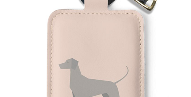 Luggage Tag - Valiant Weimaraners