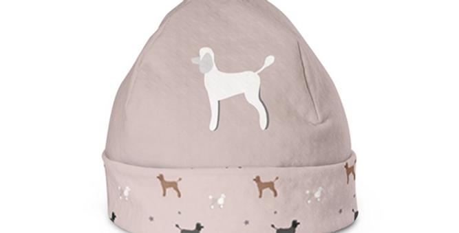 Beanie Hat - Playful Poodles