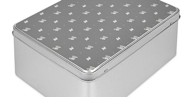 Grey Storage Tin - Super Tzus