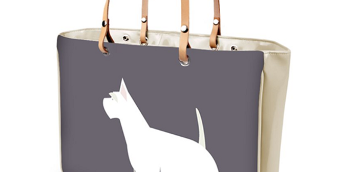 Large Tote Bag - Wonderful Westies