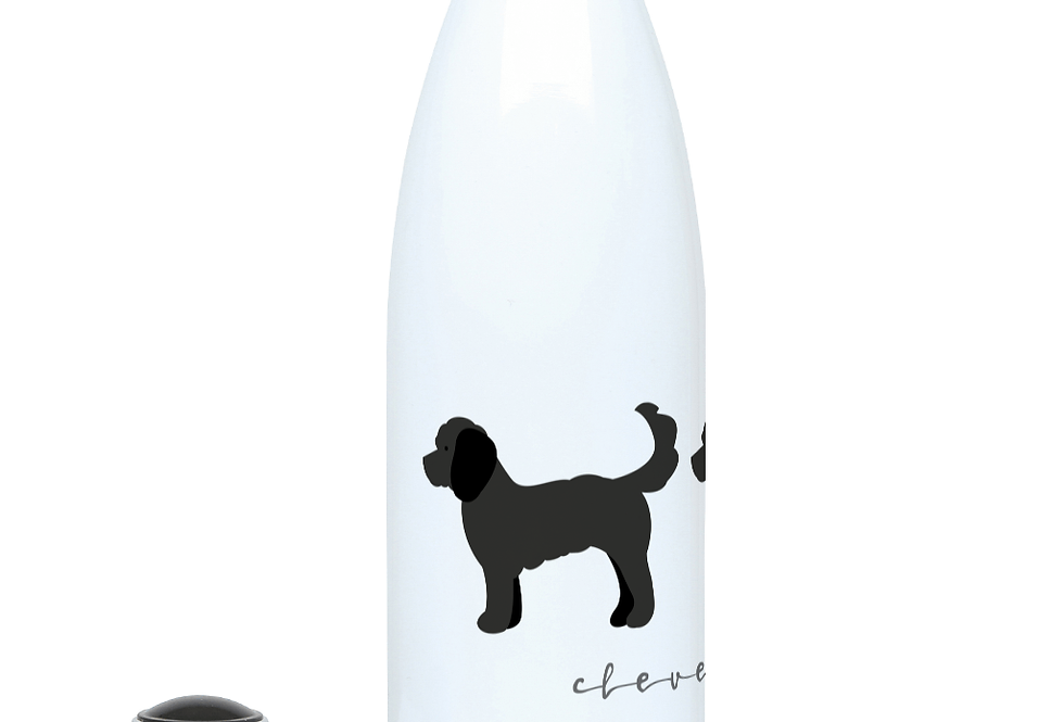 Trio Steel Water Bottle - Clever Cockapoos