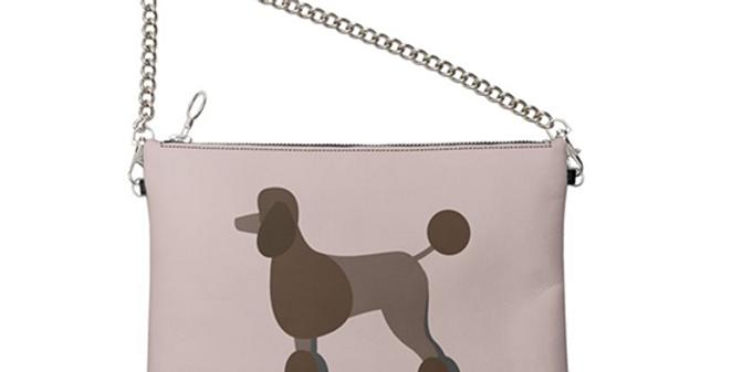 Colour Pop Leather Bag - Pom Pom Poodles