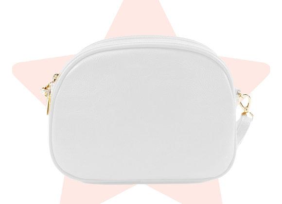 Boho White Cross-body Bag