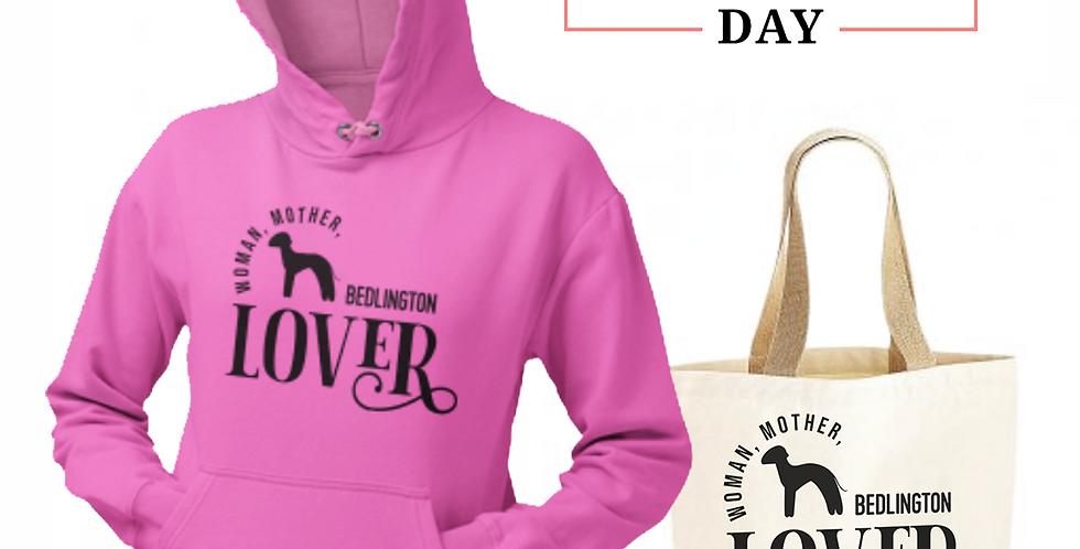 Bedlington Lover - Shopper & Hoodie Bundle