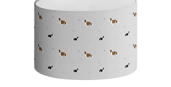 Oval Lampshade - Scrumptious Springers