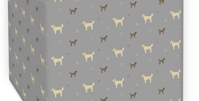 Grey Square Ceiling Shade - Dandy Doodles