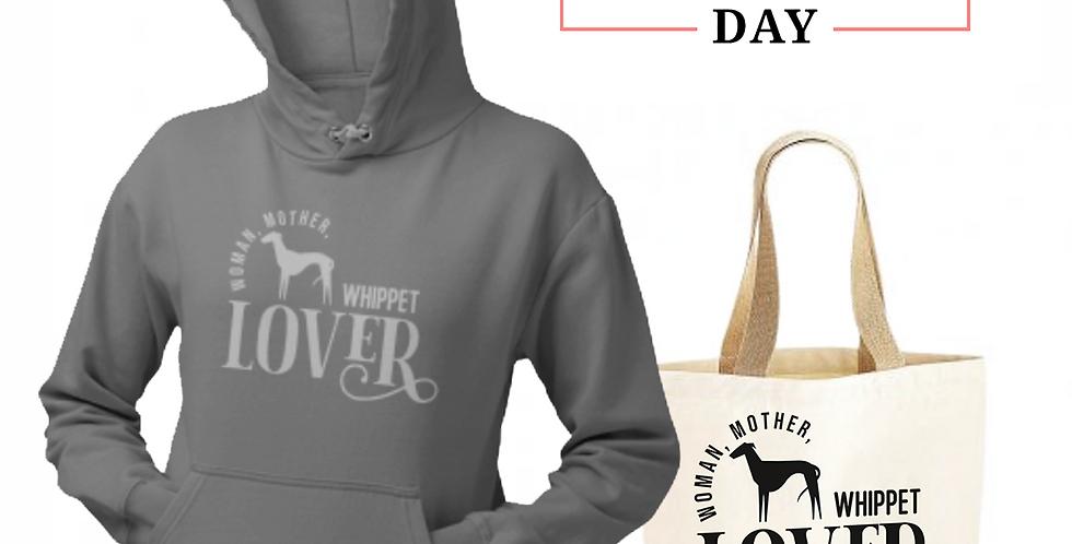 Whippet Lover - Shopper & Hoodie Bundle