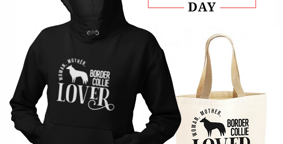 Border Collie Lover - Shopper & Hoodie Bundle