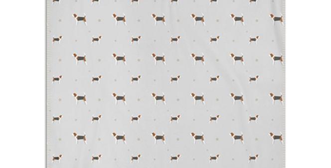 Grey Snuggly Fleece Blanket - Busy Beagles