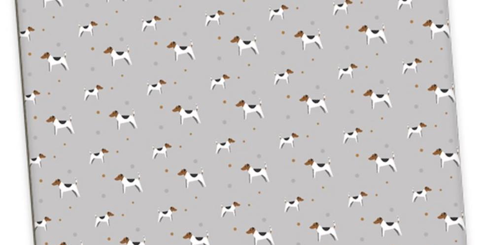 Grey Large Placemat Set (4) - Jazzy Jacks