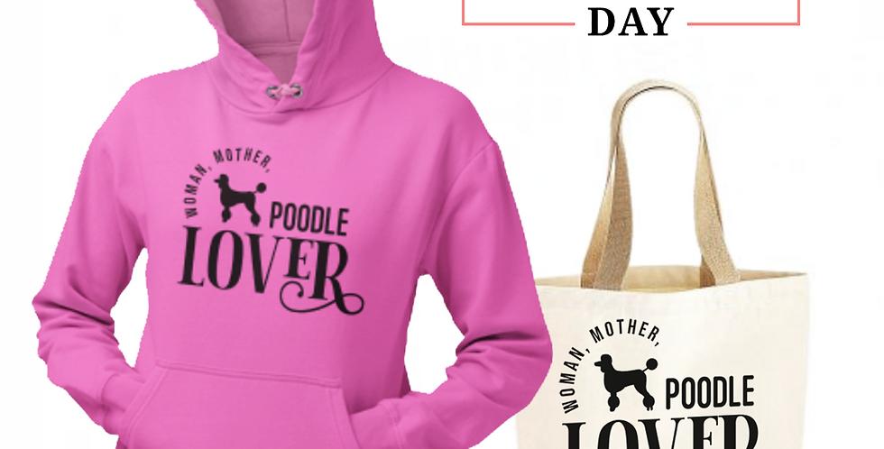 Poodle Lover - Shopper & Hoodie Bundle