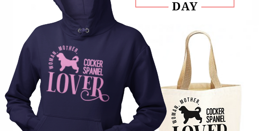 Cocker Spaniel Lover - Shopper & Hoodie Bundle