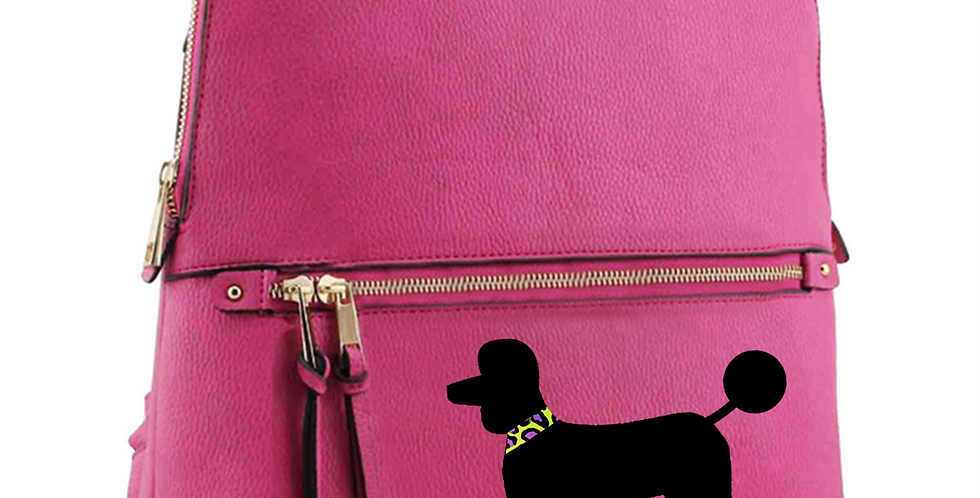 Pink 'Brights Wild Side' Rucksack - ANY BREED
