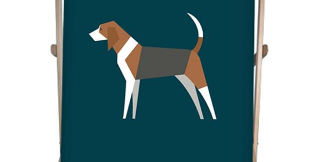 Double Deckchair - Busy Beagles