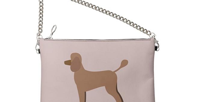 Colour Pop Leather Bag - Playful Poodles