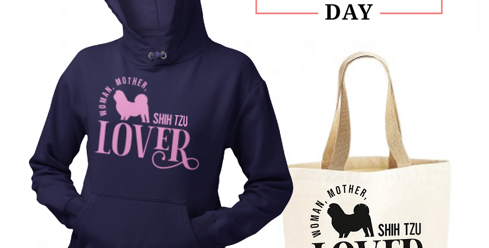 Shih Tzu Lover - Shopper & Hoodie Bundle