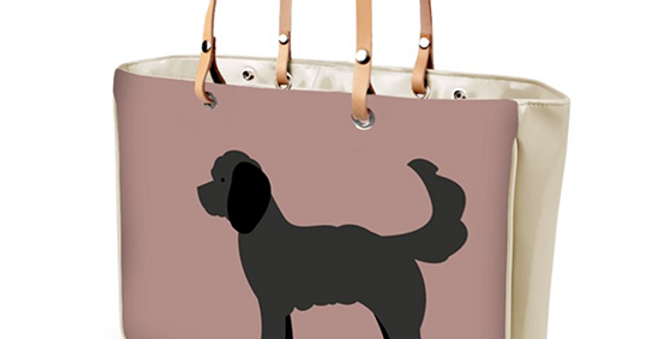 Large Tote Bag - Clever Cockapoos