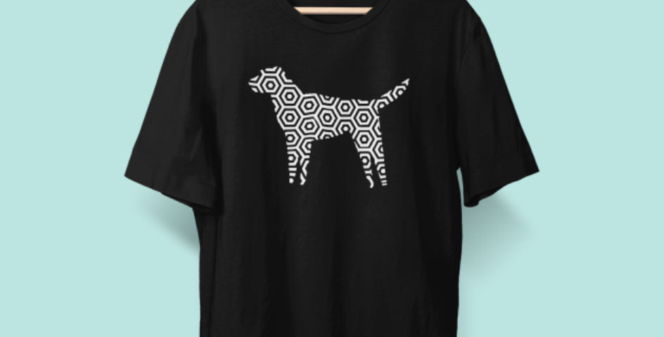 Hexagon Dog Tee - ANY BREED