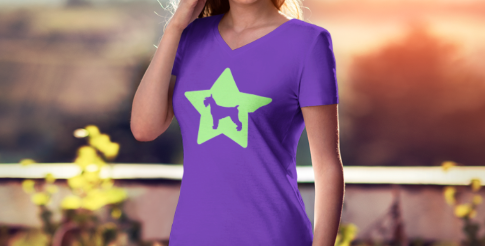 Bright Star Purple Tee - ANY BREED