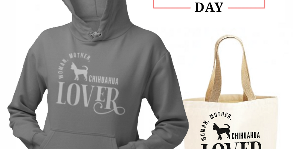 Chihuahua Lover - Shopper & Hoodie Bundle