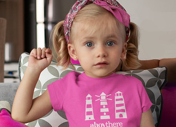 Girls Ahoy! Lighthouse T-shirt
