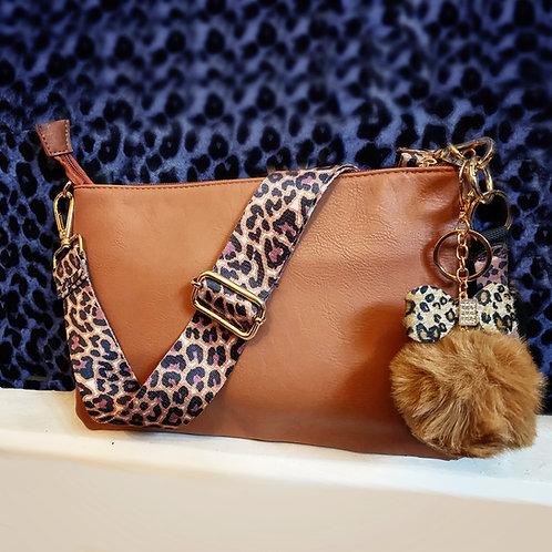 Wild Side Tan Crossbody Bag