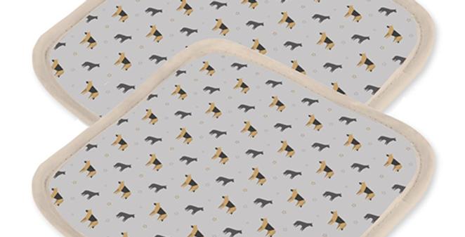 Ultra Suede Pot Holders (2) - Smart Shepherds