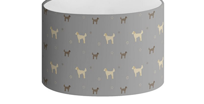 Oval Lampshade - Dandy Doodles
