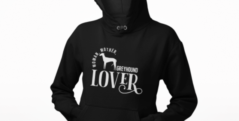 Woman, Mother Greyhound Lover - Hoodie