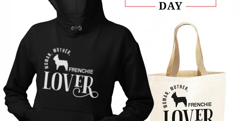 Frenchie Lover - Shopper & Hoodie Bundle