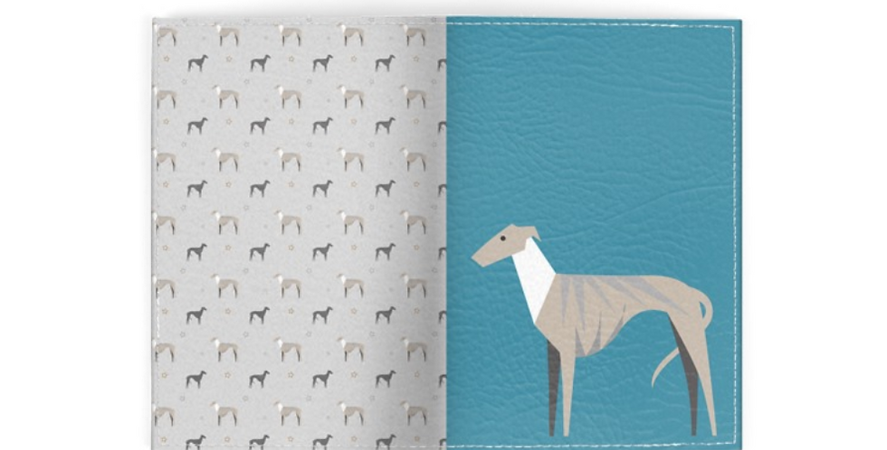 Passport Cover - Whimsical Whippets